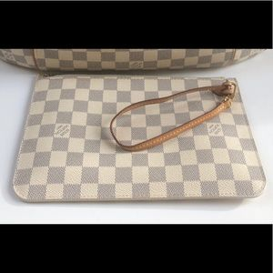 Louis Vuitton wristlet azure